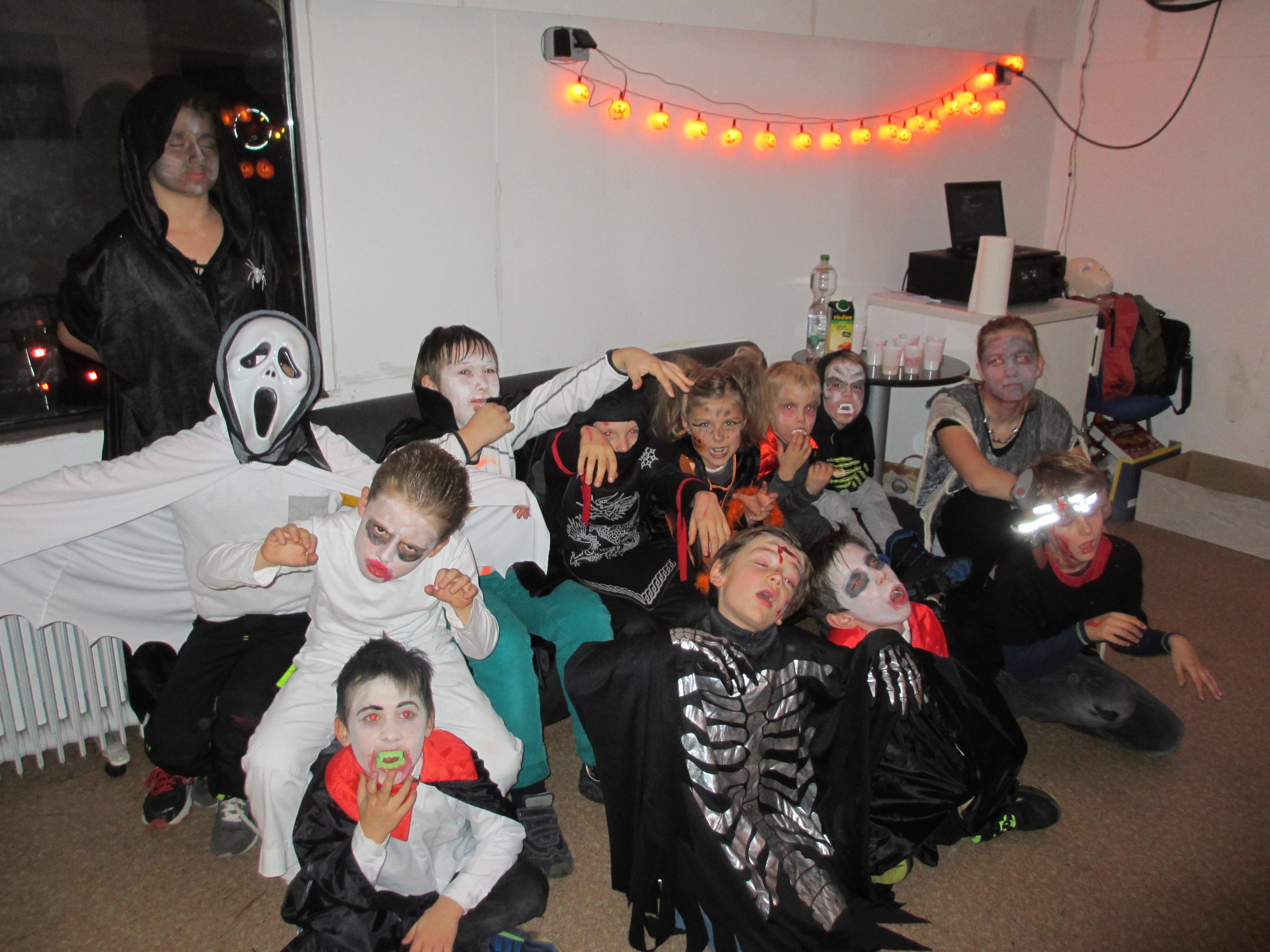 Halloween 2017 im Geisterzug