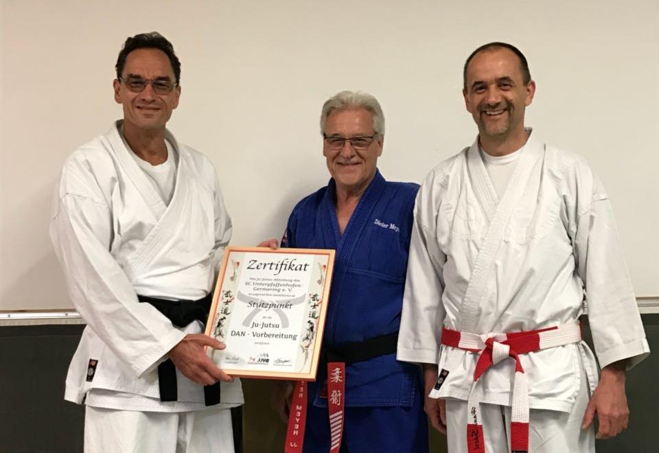 Zertifizierter DAN-Stützpunkt Ju-Jutsu