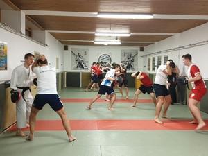 Training mit der 2. Mannschaft der Upfer Buam
