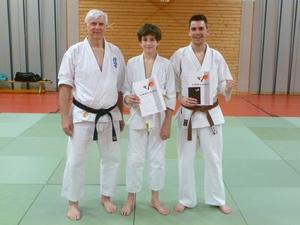 Kyu-Prüfung im Kyokushinkai-Karate
