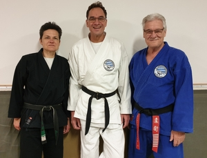 5. DAN Ju-Jutsu für Rolf Kissel